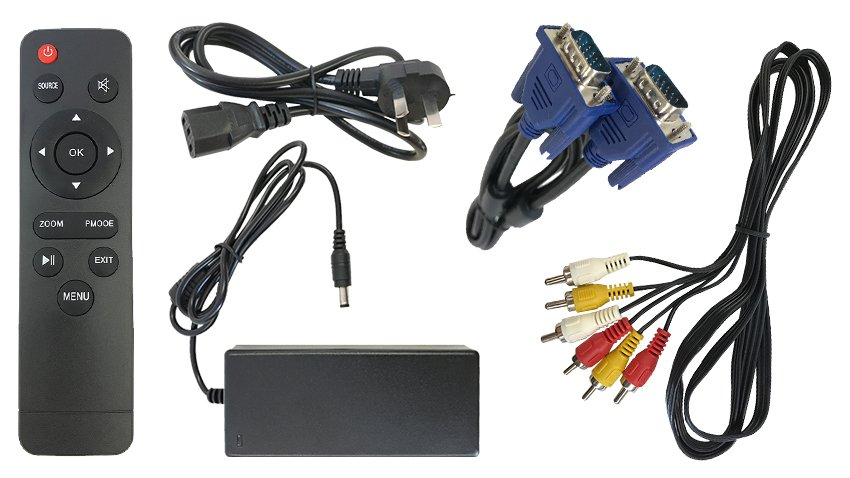 rear-view camera system and monitor cables