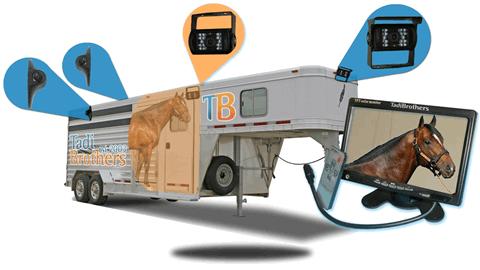 horse trailer backup camera