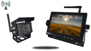 Digital wireless rv backup camera system