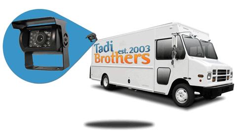 backup camera for delivery van