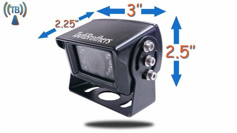 heavy duty box rv backup camera