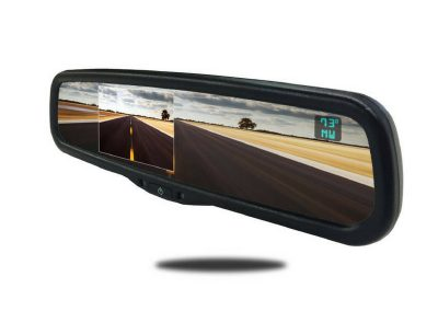 4.3-inch full replacement rear view mirror