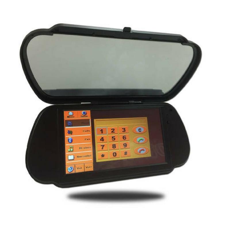 7-Inch Multimedia Rearview Mirror