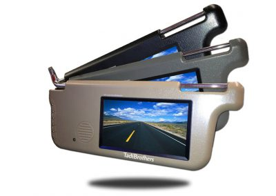 Visor Monitor for driver and passenger side