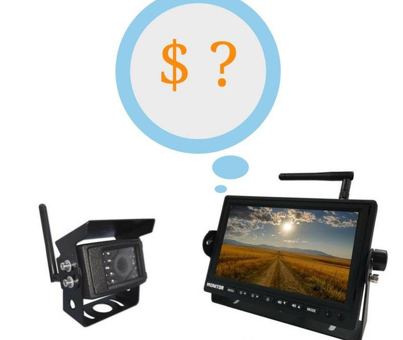 How much does a backup camera cost ?