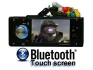 4.0-Inch Touchscreen DVD Player with Bluetooth and TV Tuner (Terminator)
