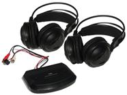 2 Pack of Wireless IR Headphones with transmitter