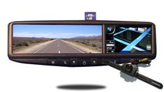 7400 GPS Navigation System with License Plate Camera