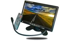 5-Inch LCD Monitor for Mobile Security