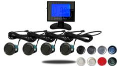 LCD Display Dual Parking Backup Sensor System with Sound (TB-S218/318)