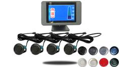 LCD Display Dual Parking Backup Sensor System with Sound (TB-S418)
