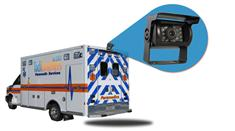 Ambulance Backup Camera System (7-Inch Monitor with CCD Mounted Box Camera)