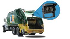 Garbage Truck Backup Camera (7-Inch Monitor with CCD Mounted Box Camera)