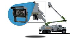 Wireless Backup Camera system for Aerial Lift Truck with a 7-Inch Monitor
