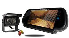 RV Backup Camera With Rear View Mirror Monitor