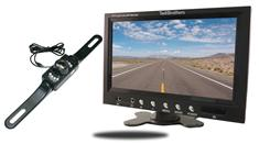 "7"" Monitor with License Plate Backup Camera"