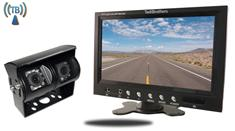 7-Inch Monitor with 120° CCD Double Mounted Wireless RV Backup Camera (RV Backup Camera System)