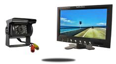10.5-Inch Monitor and a 120° Mounted RV Backup Camera (RV Backup System)