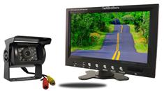 9-Inch Monitor and a 120° CCD Mounted RV Camera (RV Backup System)