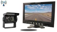 7-Inch Monitor with Wireless CCD Mounted RV Backup Camera