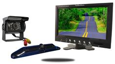 "5th Wheel Backup Camera System With a 9"" Monitor and 2 backup Cameras"