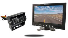 7-Inch Monitor and a 120° Double Mounted RV Backup Camera (RV Backup System)