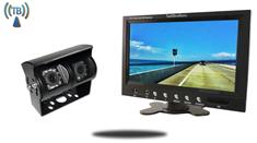 10.5-Inch Monitor and a 120° Double lens Wireless RV Backup Camera