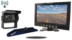 5th Wheel Wireless Backup Camera System with a 7-Inch Monitor and 2 Backup Cameras