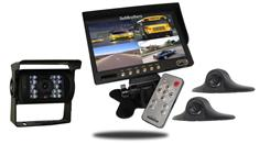 10.5-Inch Ultimate RV Backup Camera System (3 Cameras)