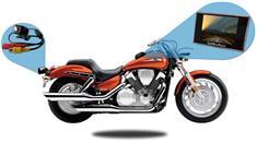 4.3-Inch Motorcycle Camera Backup System