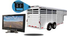 7-Inch  Horse Trailer Monitor and a 120° Mounted Backup Camera (RV Backup System)