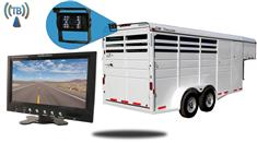7-Inch Horse Trailer Monitor with Wireless Mounted Backup Camera