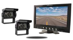 7-Inch Monitor and two 120° Mounted RV Backup Cameras (RV Backup System)
