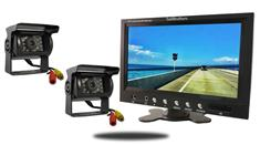 "10.5"" Monitor and two 120° Mounted RV Backup Cameras (RV Backup System)"