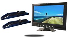 10.5-Inch Monitor with 2 CCD License Plate Backup Cameras