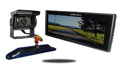 5th Wheel Backup Camera System with a 9-Inch Mirror and 2 Backup Cameras