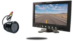 7-Inch Monitor and a 150° Bumper Backup Camera (RV Backup System)