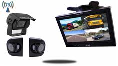 7-inch Wireless RV Trailer Backup Camera System with Premium Side Cameras
