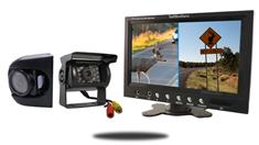 "9"" Monitor with RV Box Camera and Premium Side Camera"