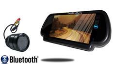 7-Inch Mirror with Bluetooth and 120° Bumper Backup Camera