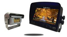 9-Inch Monitor and a 120° Heated Shutter RV Backup Camera (RV Backup System)