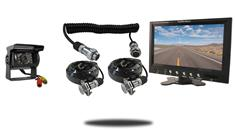 "7"" Monitor with Quick Disconnect and 120° Mounted RV Backup Camera (RV Backup System)"