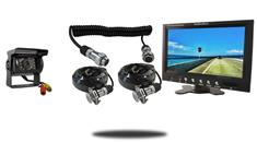 """10.5"""" Monitor with Quick Disconnect and 120° Mounted RV Backup Camera (RV Backup System)"""