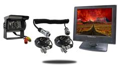 """12"""" Monitor with Quick Disconnect and 120° Mounted RV Backup Camera (RV Backup System)"""