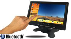 7-Inch LCD Monitor with Touchscreen and Bluetooth for any Backup Camera