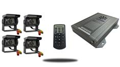 Premium SD Mobile DVR with 4 Camera System