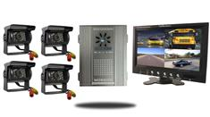 Premium SD Mobile DVR with 7-Inch Split Screen (4 Camera System)