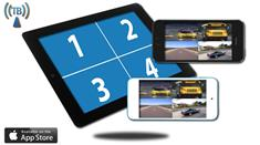 iPhone Split Screen Backup Camera (iOS) works with iPad, iPad mini, iPod