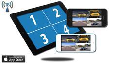 iPhone Split Screen Backup Camera (iOS) works with iPad, iPad mini, iPod
