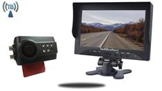 5-Inch Monitor with Built In Digital Wireless Slip On Backup Camera